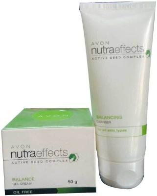 Avon Nutra effects Balance Gel Cream and Cleanser