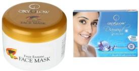 Oxyglow Fruit Enzyme Face Mask & Diamond Facial Kit