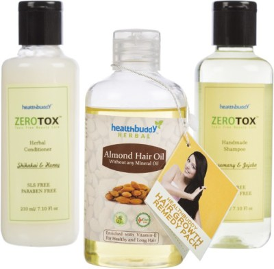 Healthbuddy Hair Growth Remedy Combo Pack