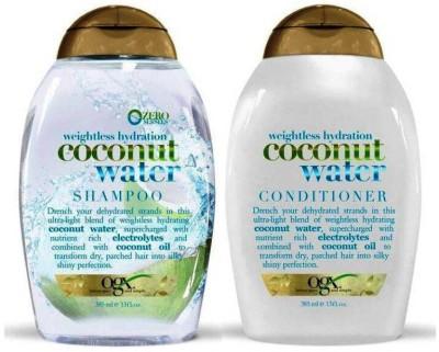 OGX Coconut Water Shampoo+Conditioner