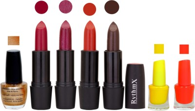 RYTHMX GSR RYTH BLK LIPSTICKS AND NAIL POLISH IMPORTANT COMBO 091