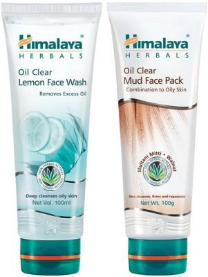 Himalaya Oil Clear Lemon Wash & Mud Face Pack