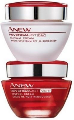 Avon Anew Reversalist Day Renewal SPF 25 UVA/UVB & Night Cream (30 gm each)