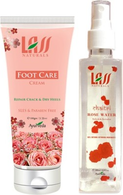 Lass Naturals Combos Of Foot Cream And Tonner