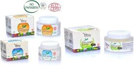 Vitro Naturals Certified Organic Aloe Day Cream, Night Cream, Shea Body butter