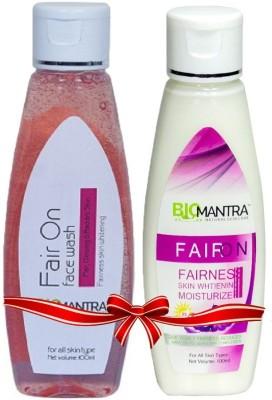 BioMantra FairOn Combo Of Moisturizer And Facewash