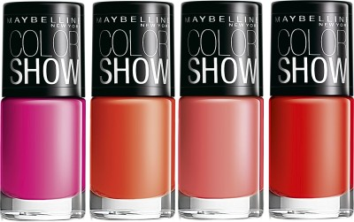 Maybelline Combo of Color Show Nail Colors