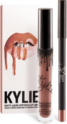 Kylie Jenner Lip kit - Dolce K deep beige nude(Set of)