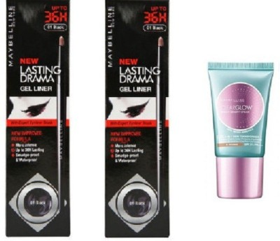 Maybelline Lasting Drama Gel Liners and BB Cream (Radiance)