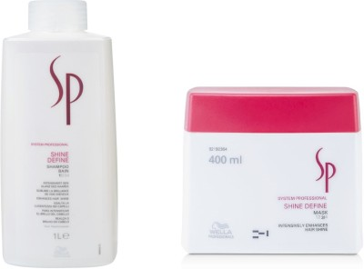 Wella Professionals Sp Shine Define Shampoo With Mask