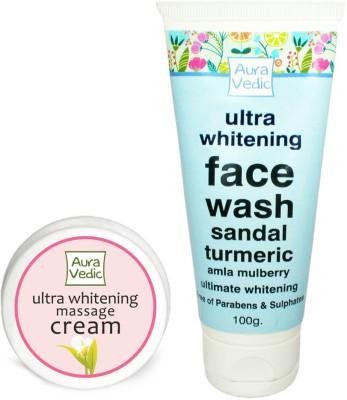 Auravedic Whitening Face Wash & Cream