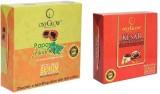 Oxyglow Papaya Facial Kit & Kesar Fairne...