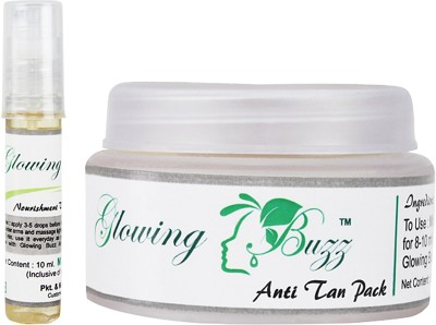 Glowing Buzz GB_3311 - Combo of Anti Tan pack and Vitamin E oil