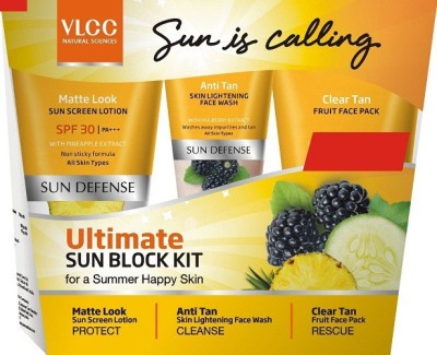 VLCC Ultimate Sun Block Kit For A Summer Happy Skin