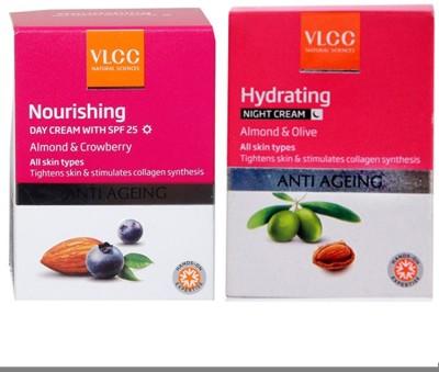 VLCC Nourshing Day Cream and Hydrating Night Cream(Set of 2)