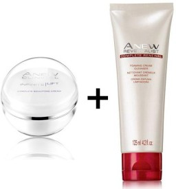 Avon Anew Clinical Infinite Lift Complete Sculpting Cream (30 gm) + Reversalist Renewal Foaming Cleanser (125 ml)