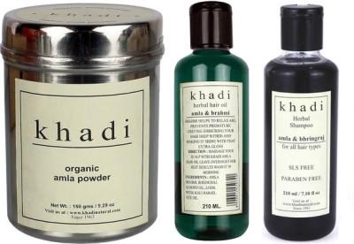 khadi Natural Total Hair Care Combo -1