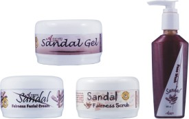 Adidev Herbals Herbal Skin Whitening Sandal Fairness Pack