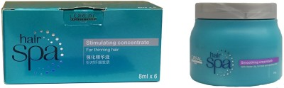 L,Oreal Paris Hair Spa Stimulating concentrate with smoothing CreamBath