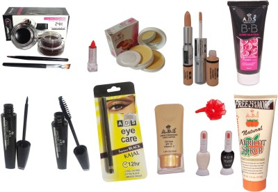 ADS Professional Makeup Combo - 13 in 1(Set of)