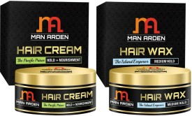 Man Arden Hair Cream - The Pacific Prince + Hair Wax (The Island Emperor Kit)(Set of)