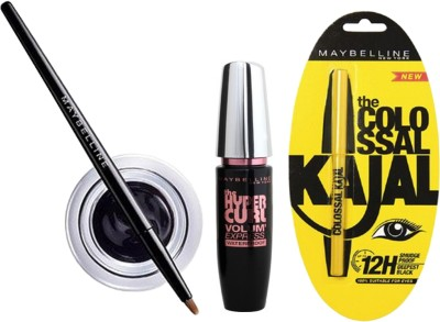 Maybelline Eye Liner and Mascara Combo with Offer