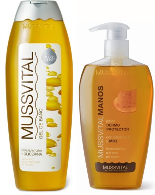 Mussvital Glicerine Shower Gel & Mussvit...