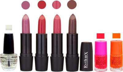 RYTHMX GSR RYTH BLK LIPSTICKS AND NAIL POLISH IMPORTANT COMBO 081