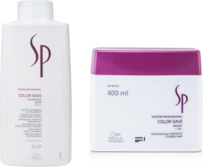 Wella Professionals Sp Color Save Shampoo With Mask