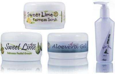 Adidev Herbals Herbal Skin Brightening Sweet Lime Fairness Pack