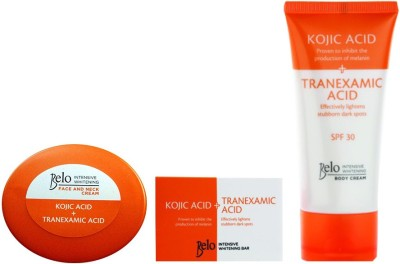 Belo Intensive Whitening Face, Neck & Body Cream And Soap