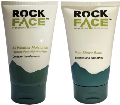 Rockface Post Shave Balm & All Weather Moisturizer