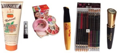 Adbeni Eye Special Face Makeup Set Combo 17 in 1