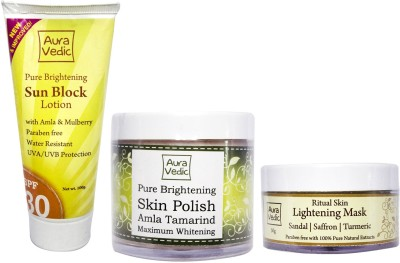 Auravedic Skin Brightening Treatment