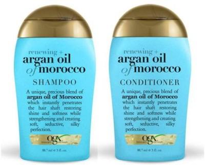 OGX Moroccan Argan Oil Shampoo+Conditioner 88.7