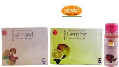 Khadi India ALMOND LEMON