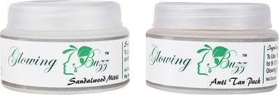 Glowing Buzz GB_4433 - Combo includes Sandalwood Mitti and Anti Tan pack