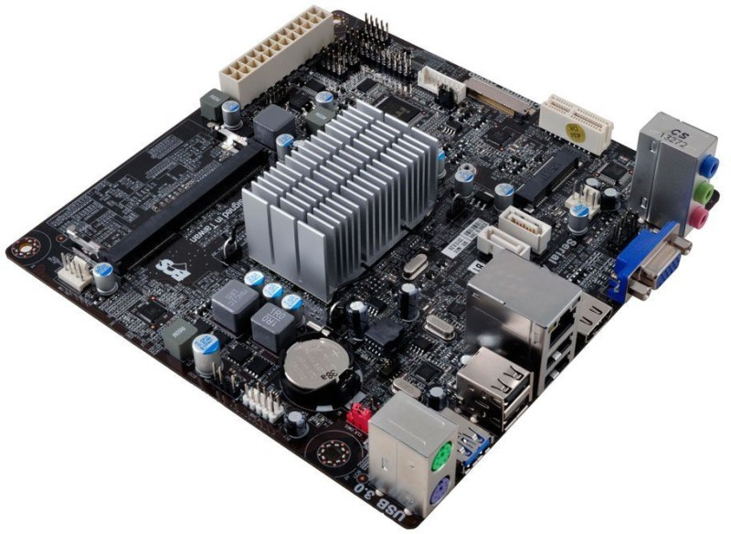 ECS BAT-I/J1800 Combo Motherboard(Brown)