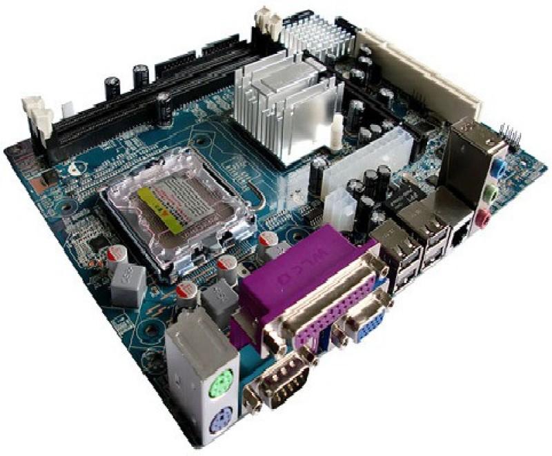 Frontech Jill-0454 Combo Motherboard(Blue)