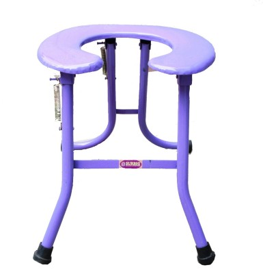 SURBHI ROUND DELUXE Commode Chair(Blue)