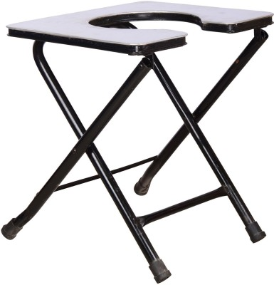 MEDI-SURGE POINT Stool Commode Chair(Black)