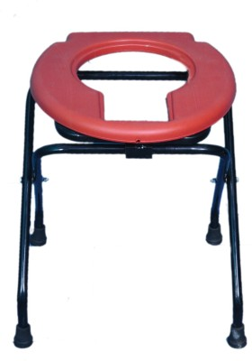 Life Line Services Commode Shower Chair(Red)