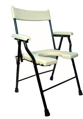 Life Line Services Commode Chair(White)