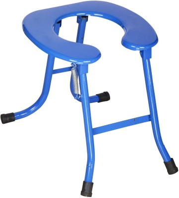 MEDI-SURGE POINT Deluxe Commode Chair(Blue)