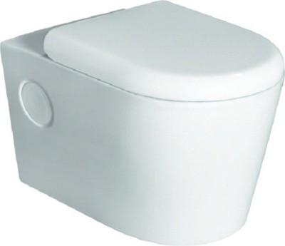 Pebbles insignia Milano 507 Western Commode(White, Ivory)