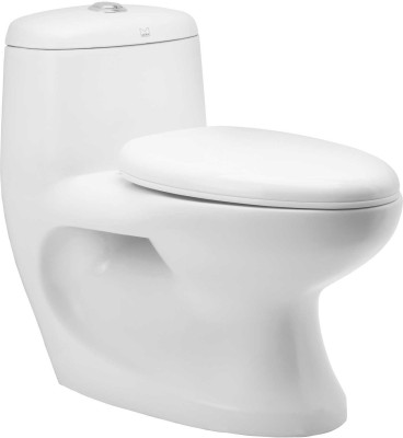Cera Clover Clover300mm Western Commode(White)