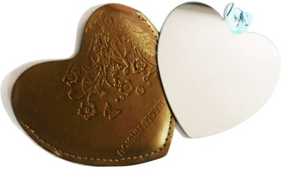 One Personal Care Heart Shape mirror with Designer Cover