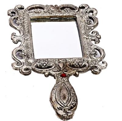 JaipurCrafts Rajasthani Hand Mirror