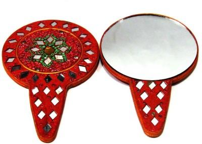 Sarthak Store Hand Mirror - Round
