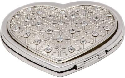 JewelandGifts Silver Plated Heart Shape Designer